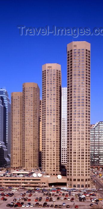 usa994: Chicago, Illinois, USA: Presidential Towers - South Des Plaines Street, Near West Side, Downtown - architects Solomon, Cordwell, Buenz and Associates - photo by A.Bartel - (c) Travel-Images.com - Stock Photography agency - Image Bank