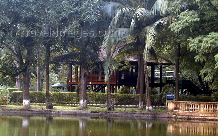 vietnam56: Vietnam - Hanoi / HAN: Ho Chi Mihn's residence - 1958-1969 - photo by Robert Ziff - (c) Travel-Images.com - Stock Photography agency - Image Bank