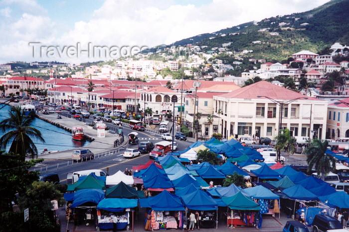 virgin-us6: US Virgin Islands - Saint Thomas: Charlotte Amalie - Vendor's Plaza (photo by M.Torres) - (c) Travel-Images.com - Stock Photography agency - Image Bank