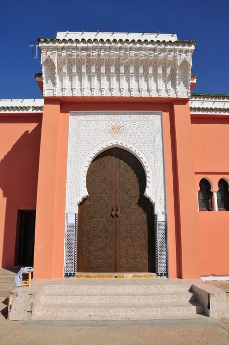 western-sahara104: Laâyoune / El Aaiun, Saguia el-Hamra, Western Sahara: Moulay Abdel Aziz Great Mosque - south gate - photo by M.Torres - (c) Travel-Images.com - Stock Photography agency - Image Bank