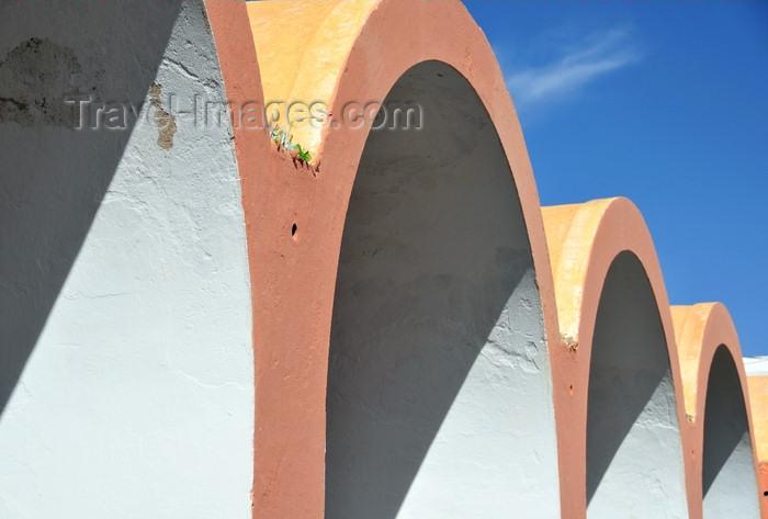 western-sahara127: Laâyoune / El Aaiun, Saguia el-Hamra, Western Sahara: Spanish Cathedral - vaults - photo by M.Torres - (c) Travel-Images.com - Stock Photography agency - Image Bank