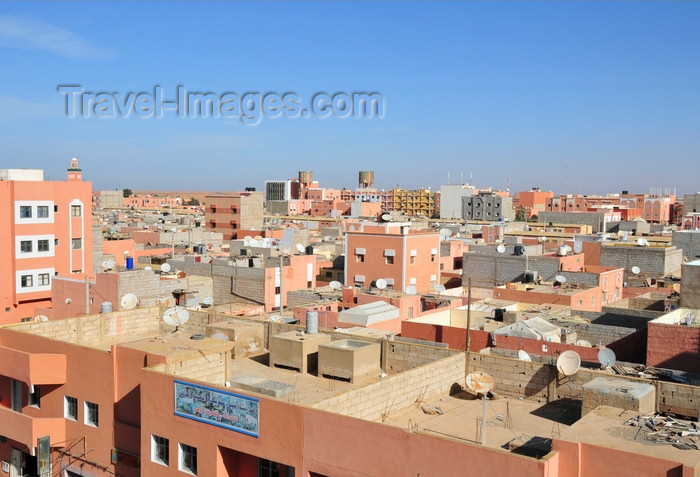 western-sahara30: Laâyoune / El Aaiun, Saguia el-Hamra, Western Sahara: Colomina district - view from hotel Sahara Line - photo by M.Torres - (c) Travel-Images.com - Stock Photography agency - Image Bank