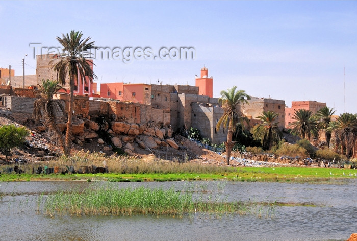 western-sahara50: Laâyoune / El Aaiun, Saguia el-Hamra, Western Sahara: Colonial part of the city, built on the south bank of the Oued Saqui el-Hamra - photo by M.Torres - (c) Travel-Images.com - Stock Photography agency - Image Bank