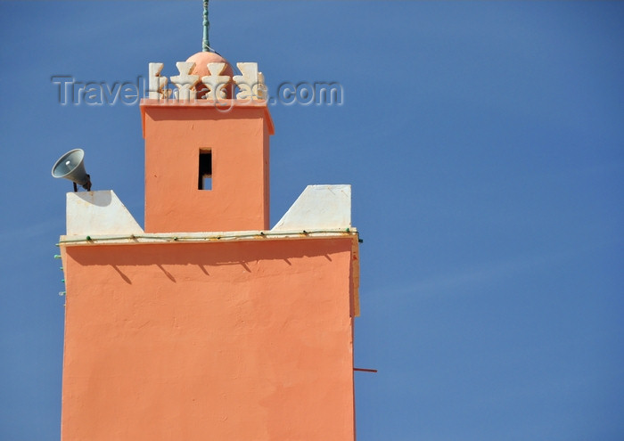 western-sahara73: Laâyoune / El Aaiun, Saguia el-Hamra, Western Sahara: minaret of the old friday mosque - Colonial district - photo by M.Torres - (c) Travel-Images.com - Stock Photography agency - Image Bank
