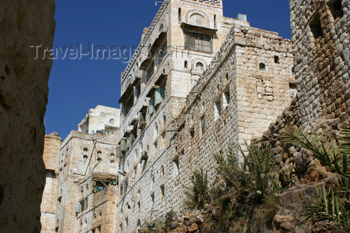 yemen23: Yemen - Al Mahwit - architecture - photo by E.Andersen - (c) Travel-Images.com - Stock Photography agency - Image Bank