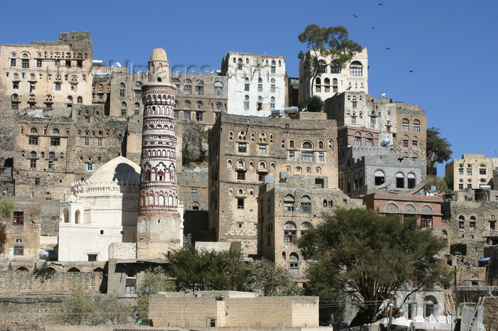 yemen29: Yemen - Jibla - Ibb Governorate - view of the town - photo by E.Andersen - (c) Travel-Images.com - Stock Photography agency - Image Bank