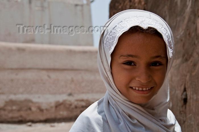 yemen95: Zabid, Al Hudaydah governorate, Yemen: : young girl in Hijab - photo by J.Pemberton - (c) Travel-Images.com - Stock Photography agency - Image Bank