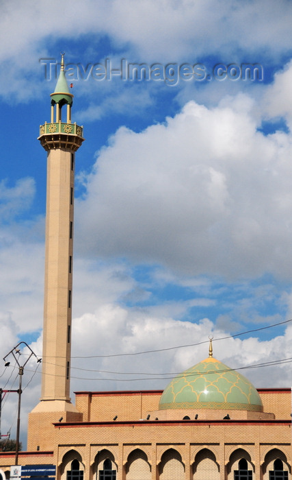zambia35: Lusaka, Zambia: the green domed Friday Mosque - Burma Road at Independence Avenue - Jumaa Masjid - photo by M.Torres - (c) Travel-Images.com - Stock Photography agency - Image Bank