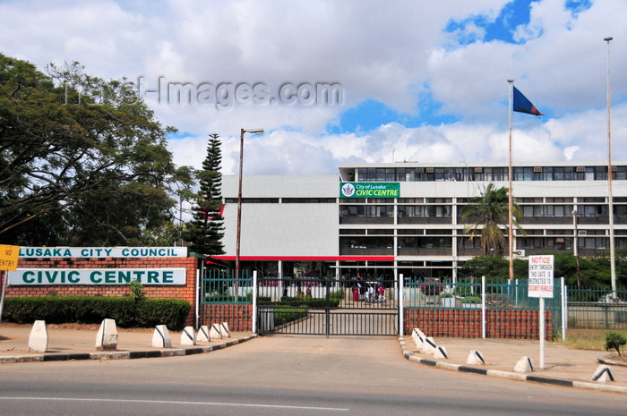 zambia37: Lusaka, Zambia: Lusaka City Council - Civic Centre - Independence Avenue - photo by M.Torres - (c) Travel-Images.com - Stock Photography agency - Image Bank