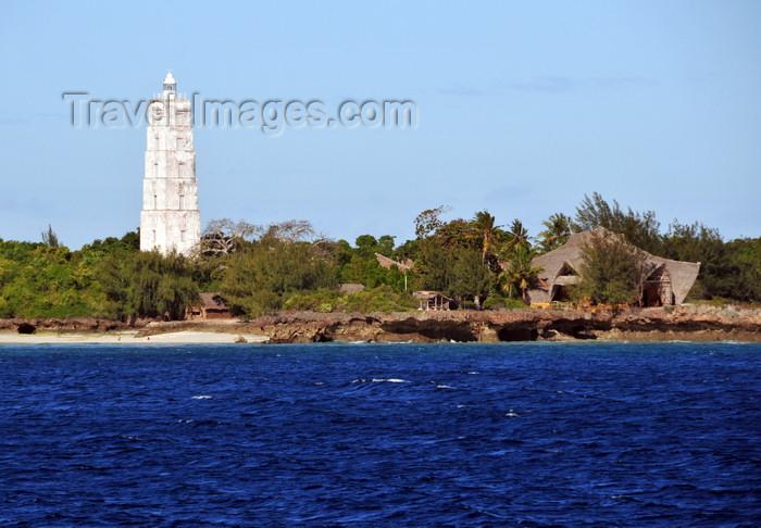 zanzibar184: Chumbe Island, Zanzibar, Tanzania: Chumbe lighthouse and resort - photo by M.Torres - (c) Travel-Images.com - Stock Photography agency - Image Bank