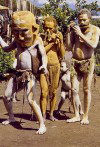 Chimbu: mud men (photo by N.Benvenuty)