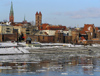 Poland - Torun: the Vistula and the center - UNESCO World Heritage Site - photo by J.Kaman
