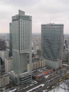 Poland - Warsaw: Skyscrapers - photo by J.Kaman