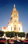 Espinho: the church at dusk - a igreja - photo by M.Durruti