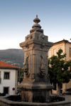 Portugal - Arouca: fountain in the main square / fonte - photo by M.Durruti