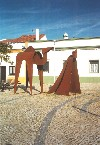 Castro Verde - Alentejo: the King and the camel - o Rei e o camelo - photo by M.Durruti