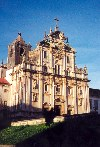 Portugal - Coimbra: the New Cathedral (Sé Nova) - photo by M.Durruti
