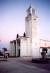 S�o Francisco de Oliven�a / San Francisco de Olivenza: igreja ao crepusculo / the campanile at dusk - photo by M.Durruti