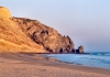 Portugal - Algarve - Praia da Luz  (concelho de Lagos): Cliffs and Luz Rock / a fal�sia e o rochedo da Luz - photo by M.Durruti