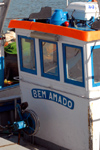 Tavira - Algarve - Portugal - fishing boat cabin - 'o Bem Amado' - cabine de traineira - photo by M.Durruti