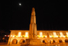 Tavira - Algarve - Portugal - City Hall and World War I monument - night - Câmara Municipal de Tavira e Monumento aos Mortos da 1ª Grande Guerra -  Praça da República - nocturno - photo by M.Durruti
