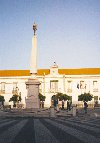 Portugal - Algarve - Vila Real de Santo Ant�nio: City Hall - a C�mara Municipal - Pra�a Marqu�s de Pombal - photo by M.Durruti