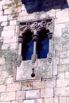 Portugal - Pinhel: janela gótica / Gothic window - photo by M.Durruti