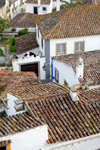 Óbidos, Portugal: roofs in the walled city - telhados - photo by M.Durruti