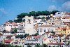 Portugal - Lisboa: Alfama - vista desde o rio tejo / Lisbon: Alfama - from the river - photo by M.Durruti