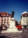 Portugal - Lisboa: estátua do Duque de Terceira na praça do mesmo nome / Cais do Sodré - photo by M.Durruti