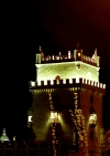 Lisbon: Torre de Belem - à noite / Belem Tower - at night - photo by F.Rigaud