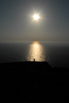 Portugal - Cape Roca (Concelho de Sintra): Cabo da Roca - the sun and the Atlantic - o sol e o Atlântico - photo by M.Durruti