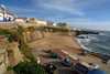 Ericeira, Mafra, Portugal: view over Pescadores beach - a praia dos pescadores - photo by M.Durruti