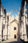 Portugal - Lisboa: nas ruinas do Convento do Carmo - Museu Arqueol�gico do Carmo - photo by M.Durruti