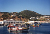 Sesimbra, Portugal: seen from the fishing harbour - vista do porto de pesca - photo by M.Durruti