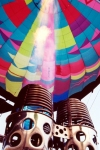 Alc�cer do Sal: bal�o de ar quente - queimando g�s / hot air balloon - burning some gas - photo by M.Durruti