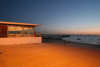 Portugal - Ros�rio (Concelho da Moita): noite na praia / night on the beach - photo by M.Durruti