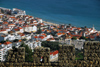 Portugal - Sesimbra: the town as seen from the castle - a vila vista do castelo - photo by M.Durruti