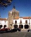 Caminha (Minho): clock tower - torre - photo by M.Durruti