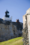 Puerto Rico - San Juan: Spanish fort of San Felipe del Morro - lighthouse - Fortaleza y faro (photo by D.Smith)
