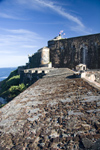 Puerto Rico - San Juan: Spanish fort of San Felipe del Morro - battlements (photo by D.Smith)