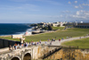 Puerto Rico - San Juan: San Felipe del Morro - access bridge (photo by D.Smith)