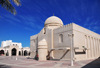 Doha, Qatar: mirhab side of Al Najada mosque, with the souq in the background - photo by M.Torres