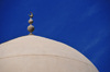 Doha, Qatar: dome with crescent moon of Al Najada mosque - photo by M.Torres