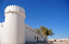 Qatar - Doha: modern Mosque with Ziggurat like minaret - spiral minaret - photo by B.Cloutier