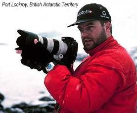photographer Roderick Eime - Port Lockroy, British Antarctic Territory