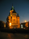 Romania - Timisoara: Orthodox cathedral - nocturnal - photo by *ve