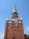 Russia - Moscow: Kremlin -  Troistskaya Tower - Unesco world heritage site (photo by Dalkhat M. Ediev)