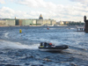 Russia - St. Petersburg: boat race on the Neva, around  Peter and Paul fortress (photo by D.Ediev)