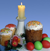 Russia - Krasnodar: Easter cakes (photo by Vladimir Sidoropolev)
